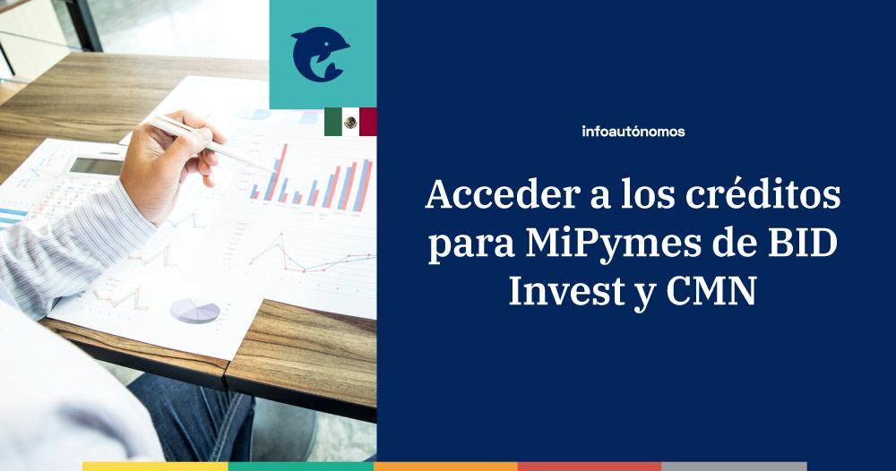 ¿Cómo acceder a los créditos a MiPymes de BID Invest y CMN?