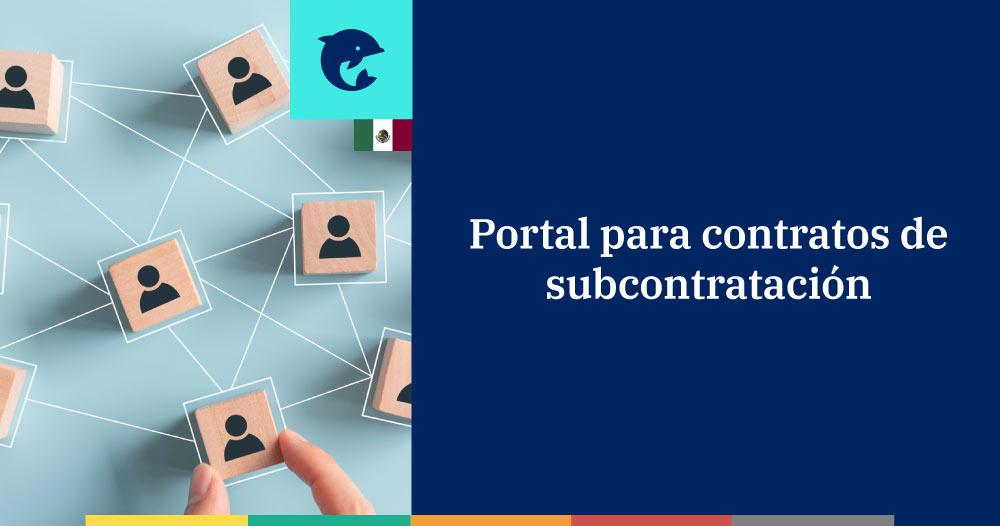 ICSOE: plataforma para los contratos de subcontratación